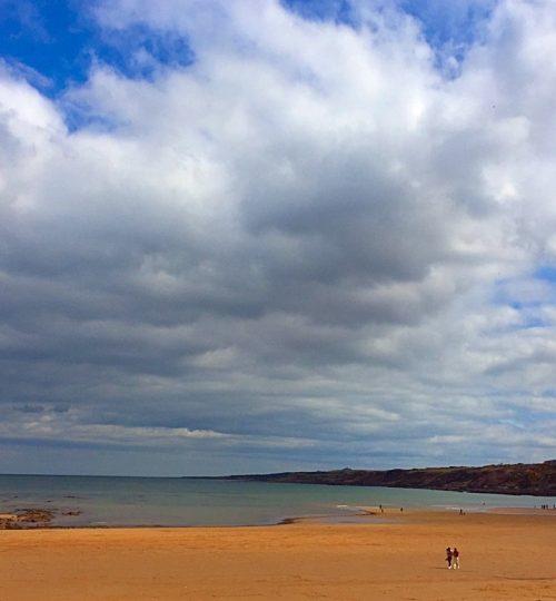 Spiaggia scozzese
