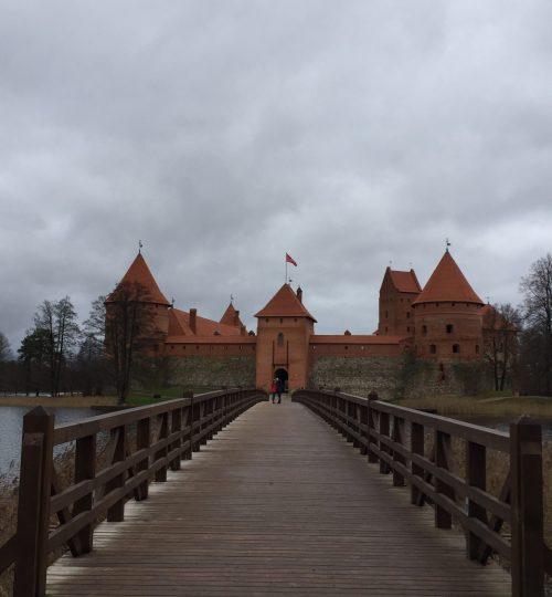Castello di Trakai in Lituania